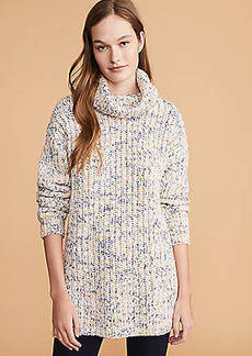 LOFT Lou & Grey Rainbowmarl Tunic Sweater