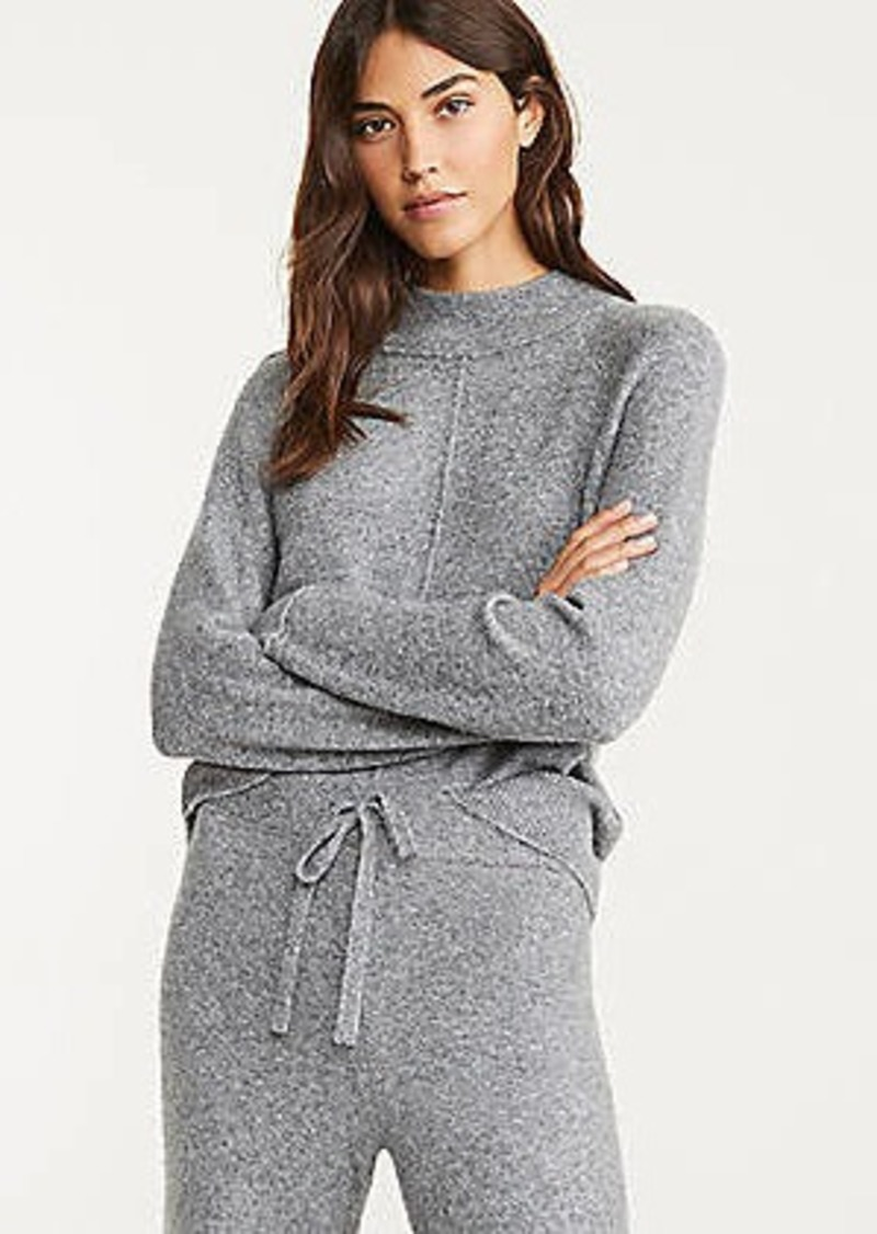 LOFT Lou & Grey Seamed Sweater
