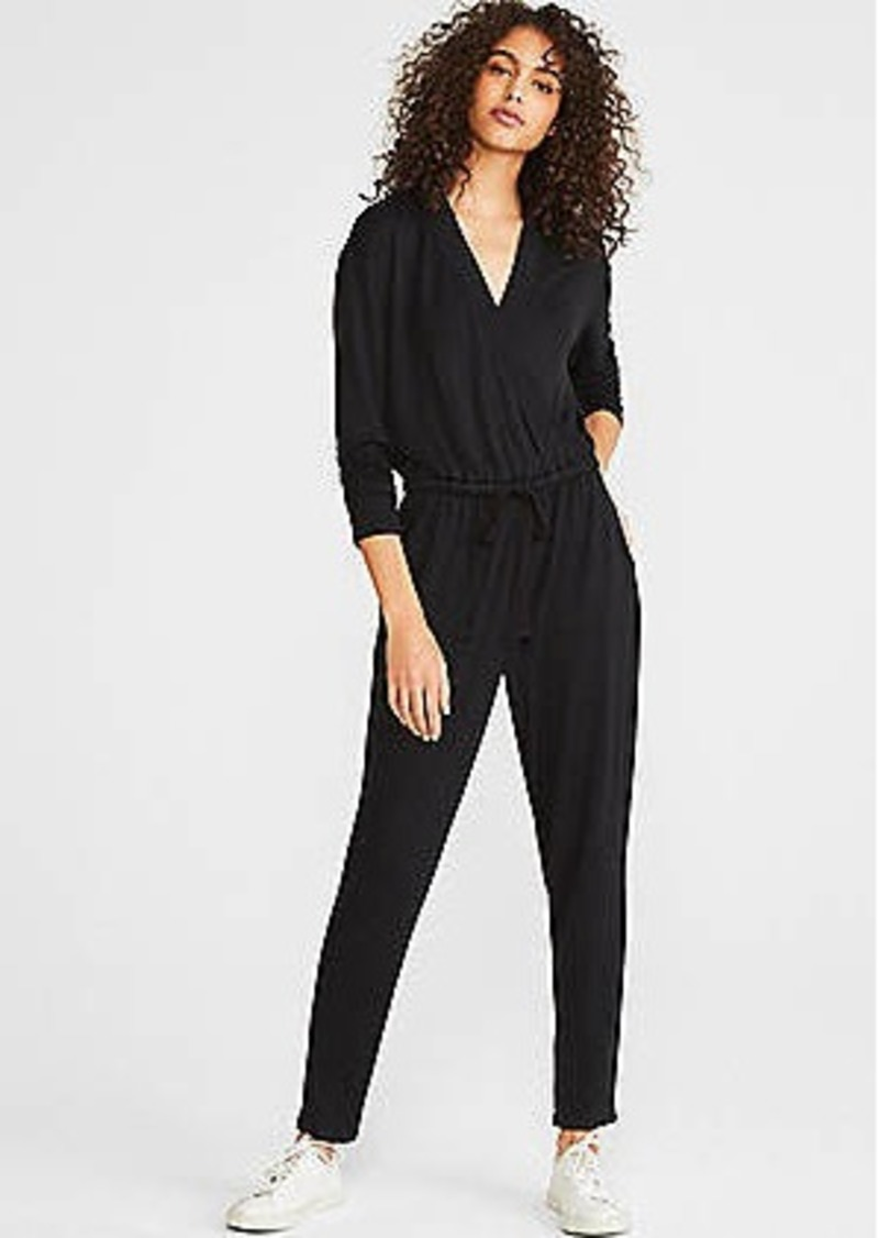 LOFT Lou & Grey Signature Softblend Lite Crossover Jumpsuit