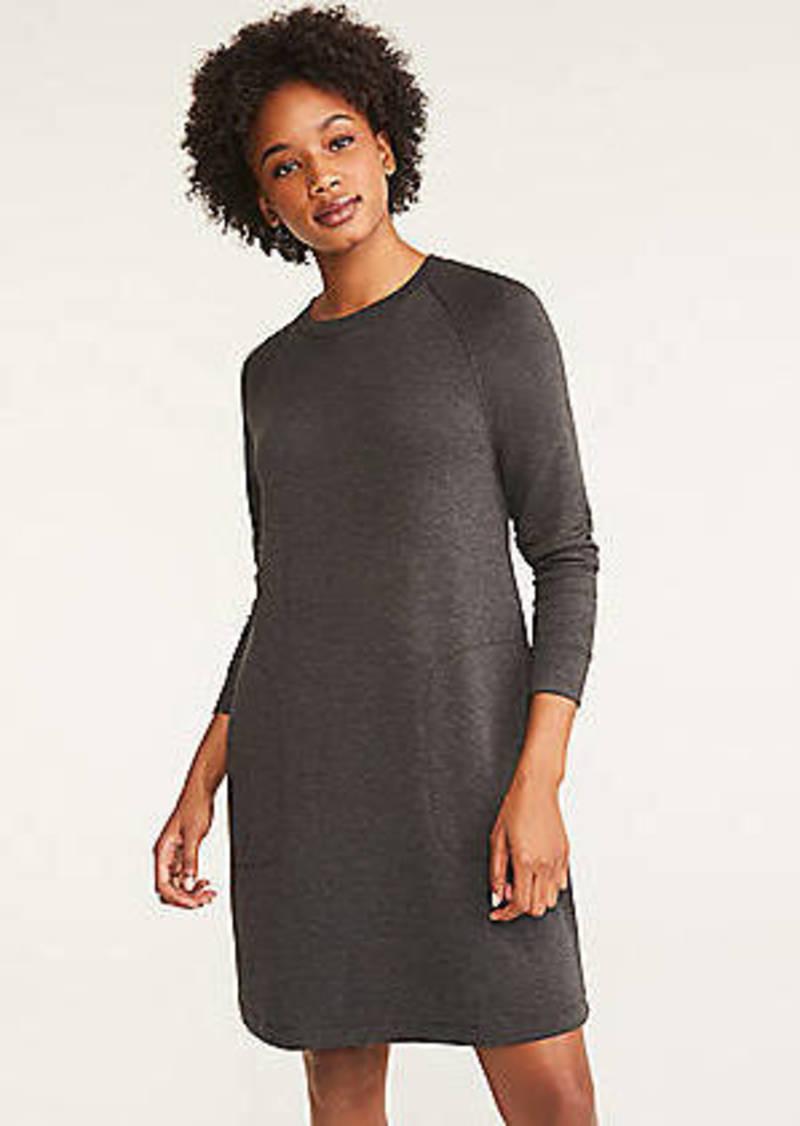 LOFT Lou & Grey Signature Softblend Sweatshirt Dress