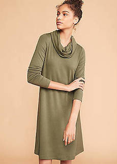 LOFT Lou & Grey Signature Softblend Lite Cowl Swing Dress