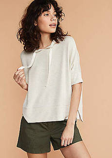 LOFT Lou & Grey Signaturesoft Swingy Hoodie Top