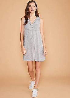 LOFT Lou & Grey Split Neck Swing Dress