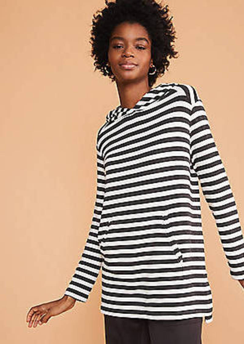 LOFT Lou & Grey Striped Signaturesoft Hoodie Top