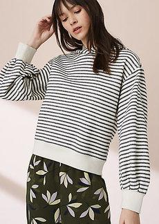 Lou & Grey Striped Slouchy Hoodie