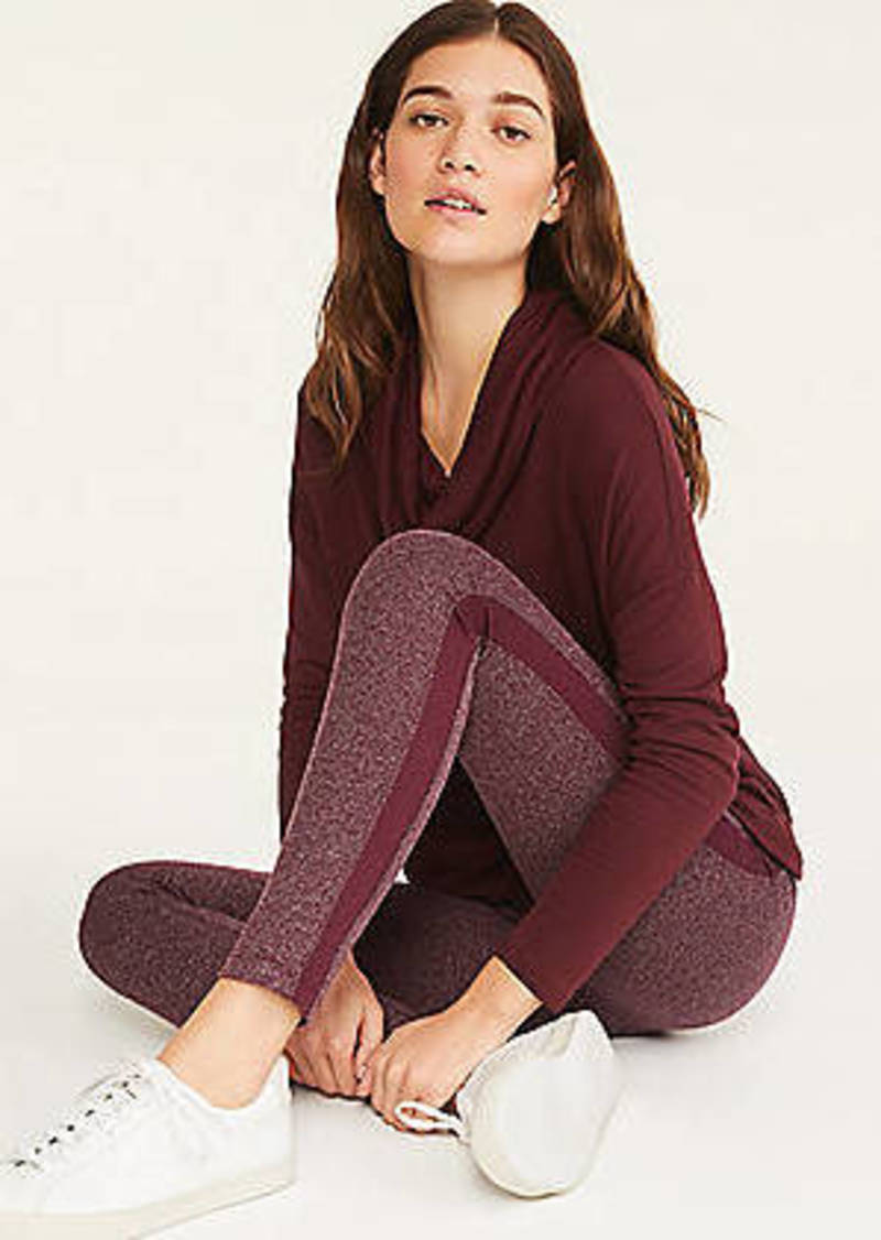 LOFT Lou & Grey Textured Stripe Ponte Leggings