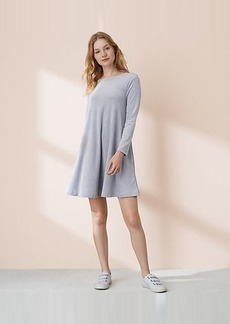 Lou & Grey Velour Swing Dress