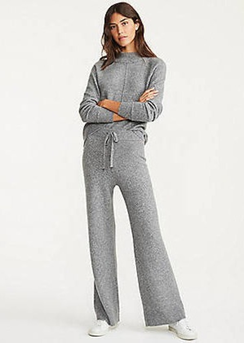 LOFT Lou & Grey Wide Leg Sweater Pants