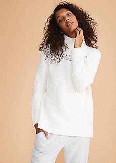 LOFT Lou & Grey Winterweave Turtleneck Sweater