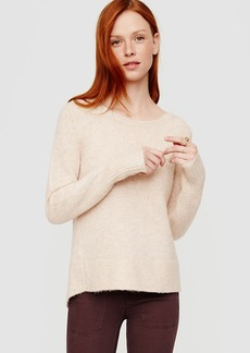 LOFT Lou & Grey Boucle Shirttail Sweater