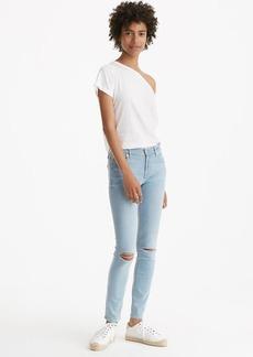 Lou & Grey Destructed Skinny Jeans