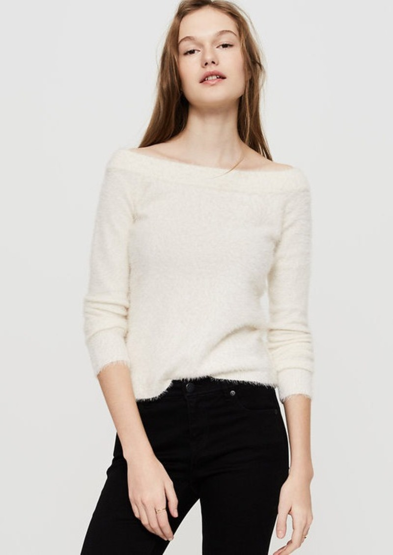 LOFT Lou & Grey Eyelash Off The Shoulder Sweater | Sweaters ...