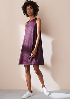 Lou & Grey Graffiti Fluid Swing Dress