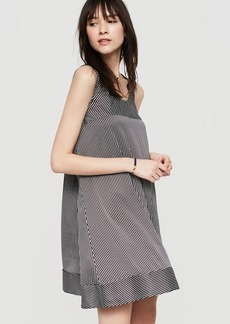 Lou & Grey Lineup Luster Swing Dress