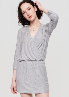 Lou & Grey Marlknit Blouson Dress