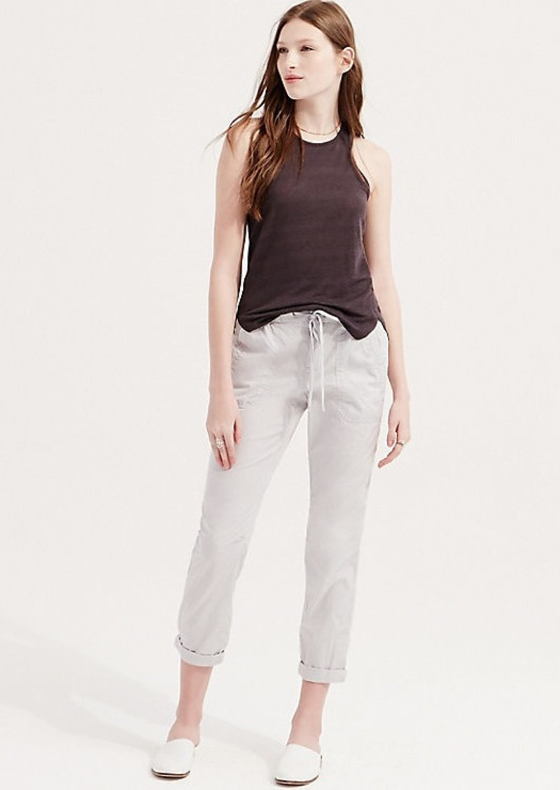 f35c3263b1014 LOFT Lou & Grey Poplin Pants | Casual Pants