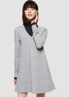 Lou & Grey Rebound Terry V-Neck Dress