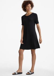 Lou & Grey Seamed Signaturesoft Tee Dress