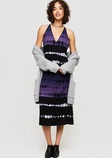 Lou & Grey Shibori Strappy Midi Dress
