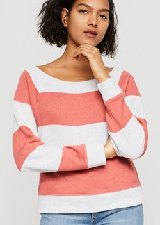 LOFT Lou & Grey Striped Dolman Sweatshirt