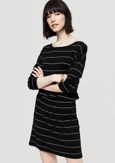 Lou & Grey Striped Signaturesoft Blouson Dress