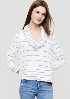 Lou & Grey Striped Signaturesoft Cowl Top