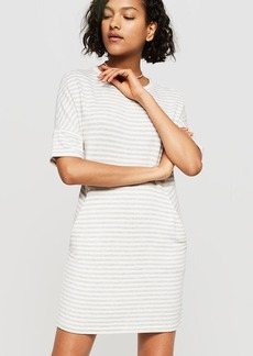 Lou & Grey Striped Signaturesoft Dropshoulder Dress