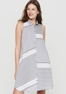 Lou & Grey Stripeout Shirtdress