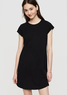 Lou & Grey Sueded Jersey Tee Dress