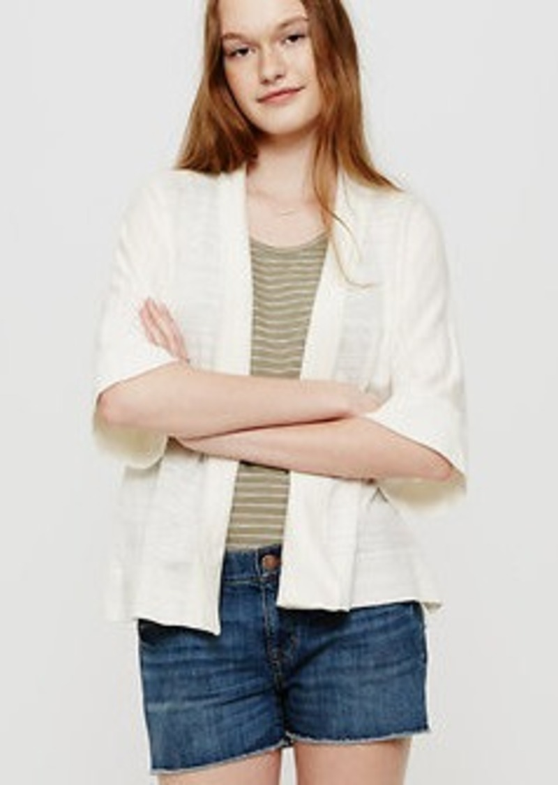 LOFT Lou & Grey Summer Kimono Cardigan