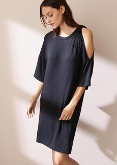 Lou & Grey Tie Shoulder Signaturesoft Dress