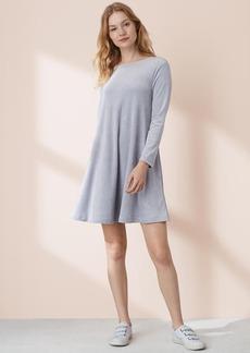 Lou & Grey Velour Swing Dress
