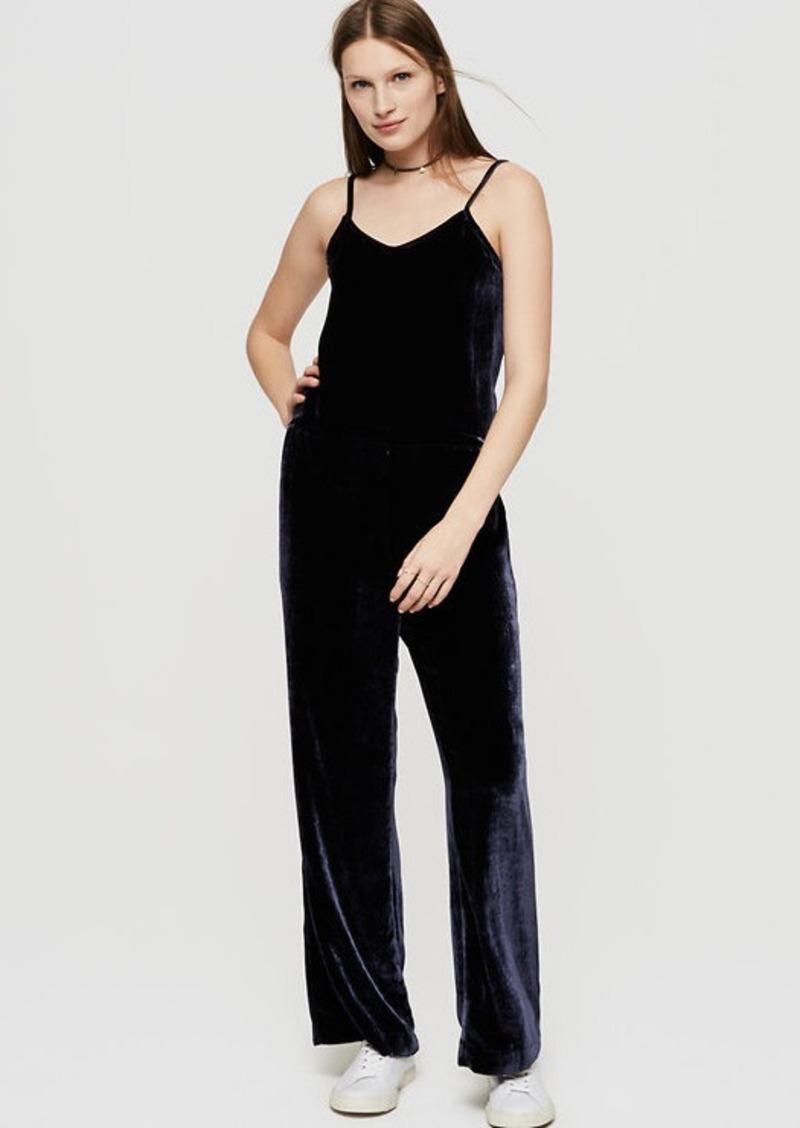 f603a7ff567 LOFT Lou  amp  Grey Velvet Jumpsuit
