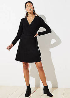 LOFT Tall Wrap Dress