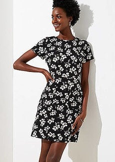 LOFT Magnolia Patch Pocket Dress