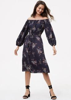 Marigold Off The Shoulder Dress