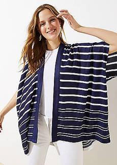LOFT Maritime Stripe Kimono