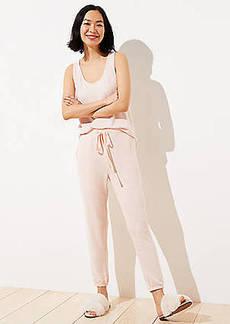 LOFT Marled Pajama Pants