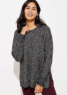 LOFT Marled Poncho Sweater