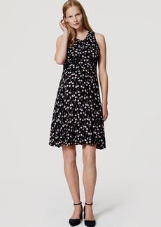Maternity Cherry Flare Dress