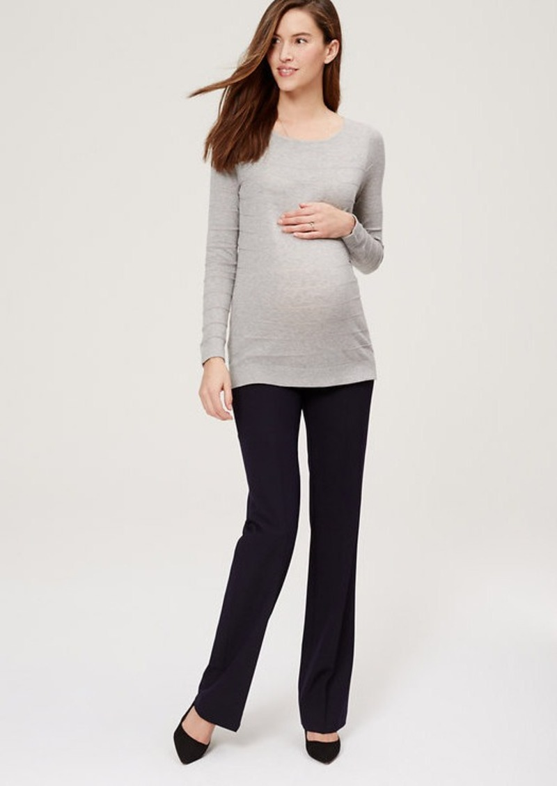 Maternity LOFT Trousers with Demi Panel