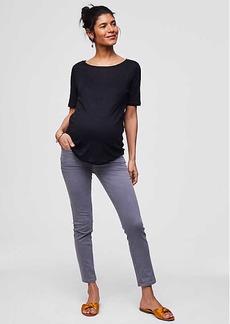LOFT Maternity Skinny Crop Jeans