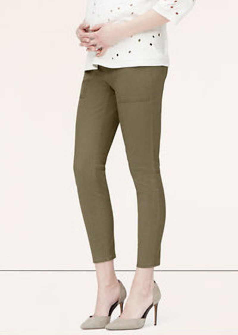 LOFT Maternity Skinny Utility Pants