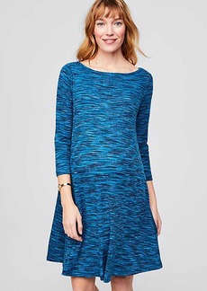 Maternity Spacedye Swing Dress