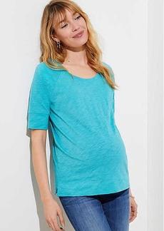 LOFT Maternity Vintage Soft Sweatshirt Tee