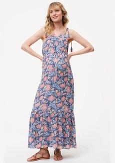 Maternity Wildflower Maxi Dress