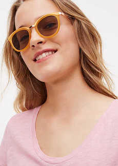 Matte Round Sunglasses