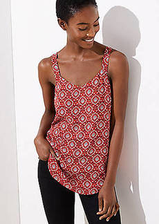 LOFT Medallion V-Neck Cami