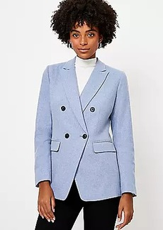 LOFT Melange Double Breasted Modern Blazer