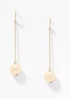 LOFT Metallic Ball Drop Earrings